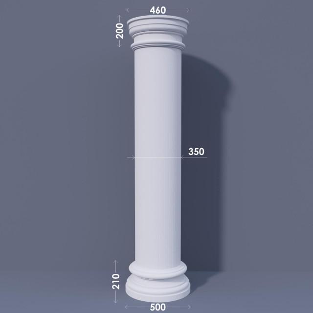 Колонна гладкая ФКА 16 d350