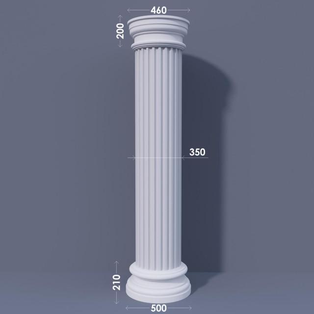 Колонна канелюрная ФКА 17 d350