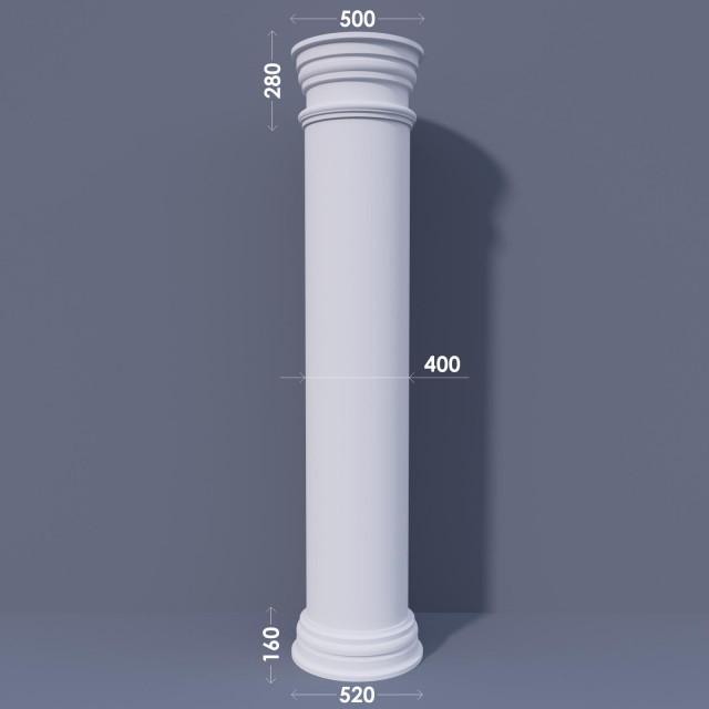 Колонна гладкая ФКА 19 d400