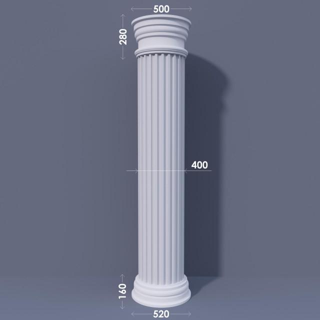 Колонна канелюрная ФКА 20 d400