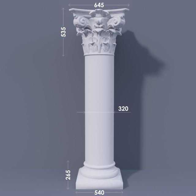 Колонна гладкая ФКА 22 d320