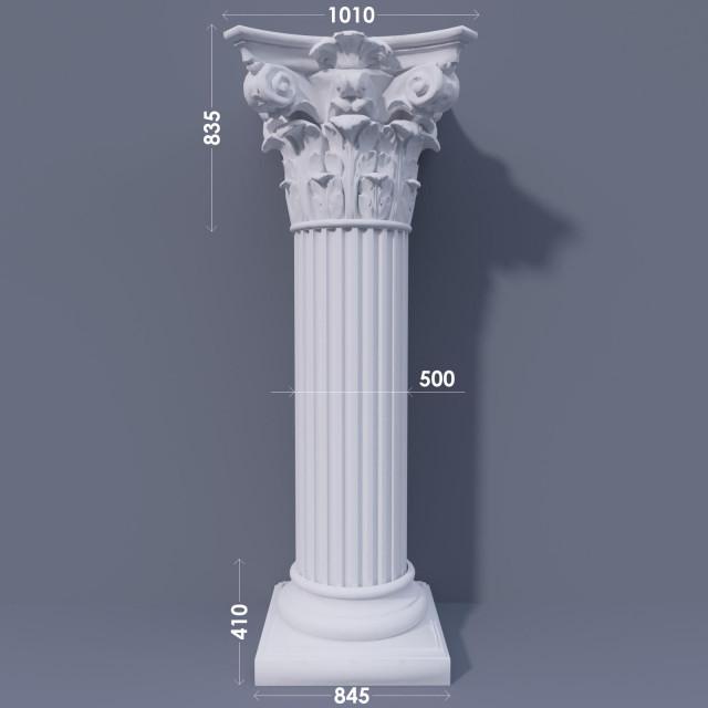 Колонна канелюрная ФКА 24 d500