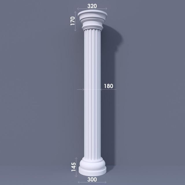 Колонна канелюрная ФКА 2 d180