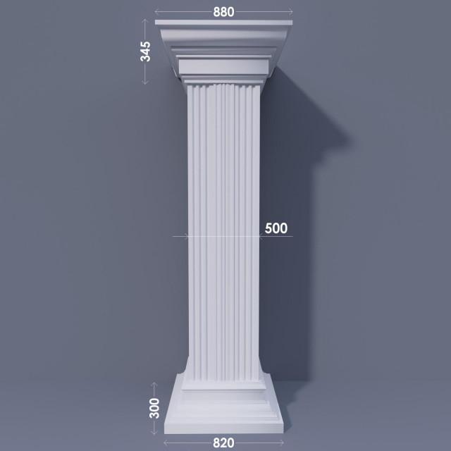Колонна квадратная ФКА 30 d500