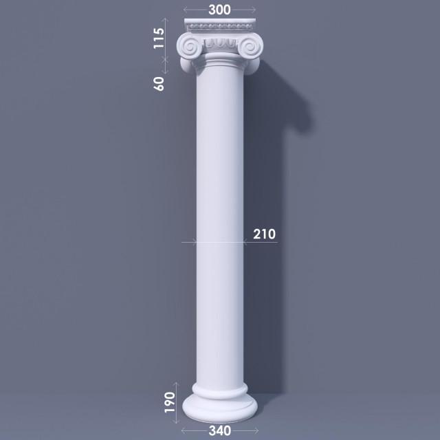 Колонна гладкая ФКА 7 d210