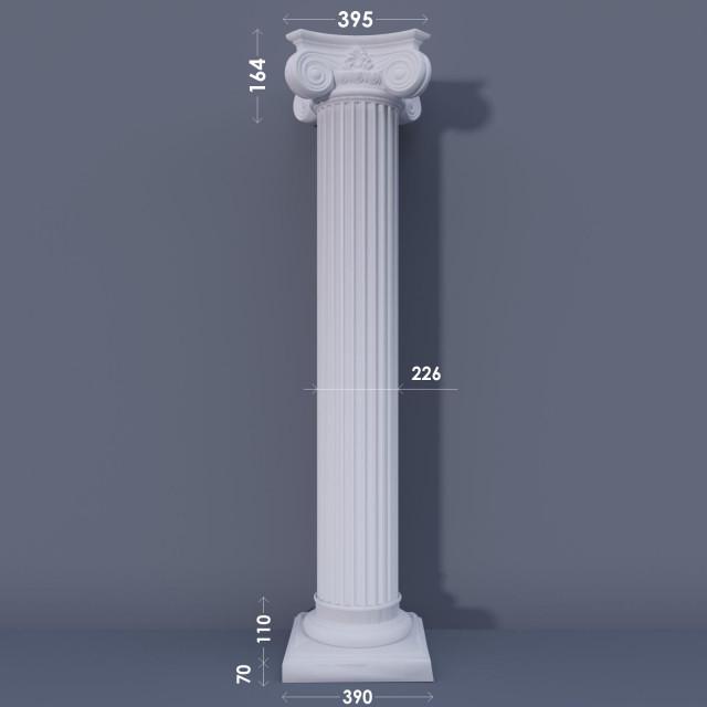 Колонна канелюрная ФКА 9 d226