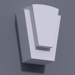 Замковый камень ЗК 7 (h 430)