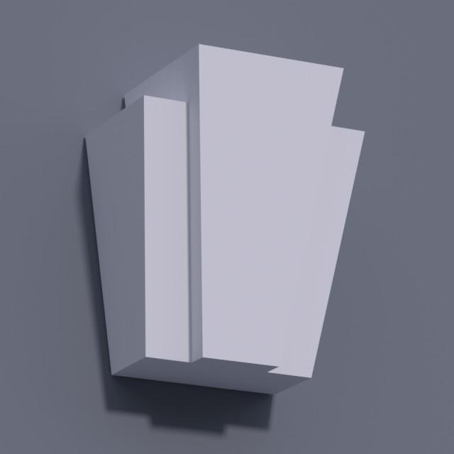 Замковый камень ЗК 8 (h 300)
