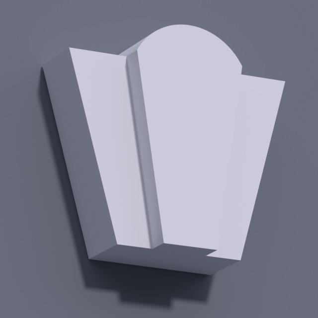 Замковый камень ЗК 9 (h 235)