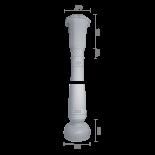 Колонна из гипса ка-74 (коническая)