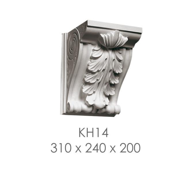 Кронштейн из гипса кн-14 310х240х200