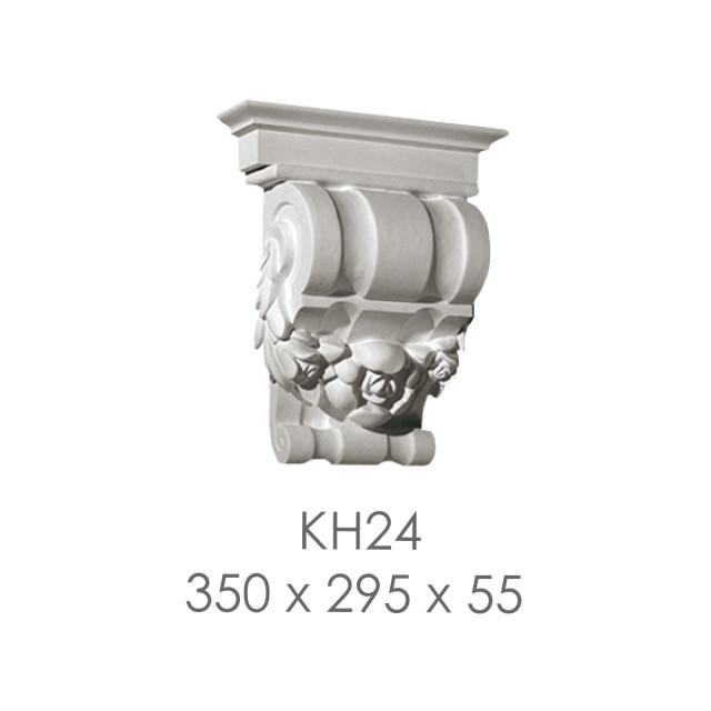 Кронштейн из гипса кн-24 350х295х55