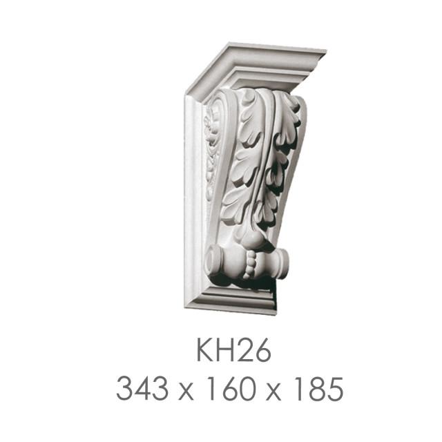 Кронштейн из гипса кн-26 343х160х185