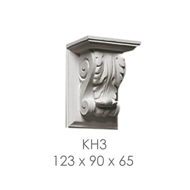 Кронштейн из гипса кн-3 123х90х65