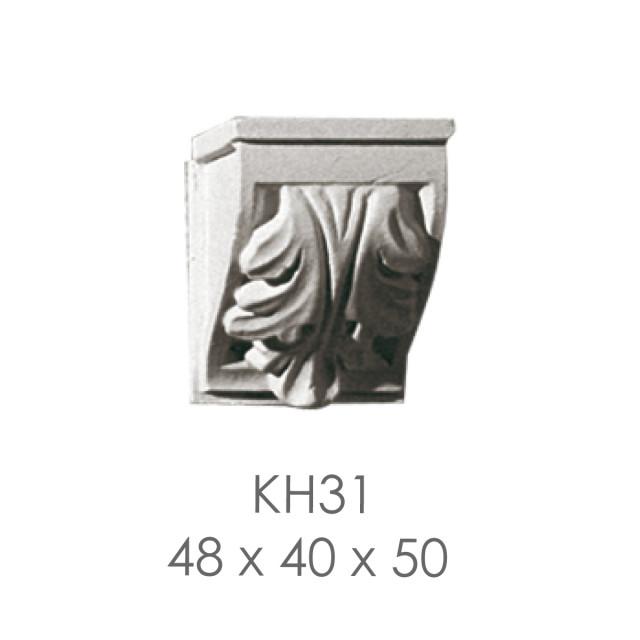 Кронштейн из гипса кн-31 48х40х50