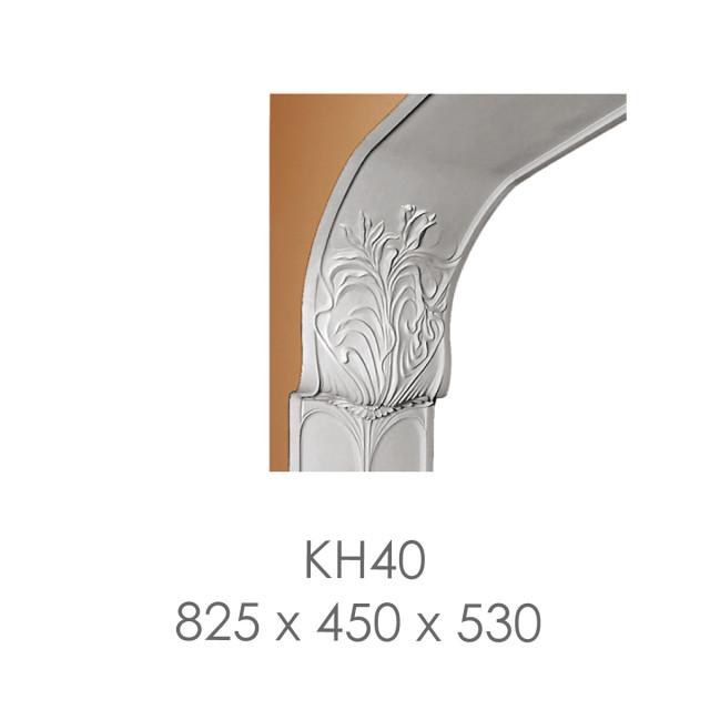 Кронштейн кн-40 из бетона