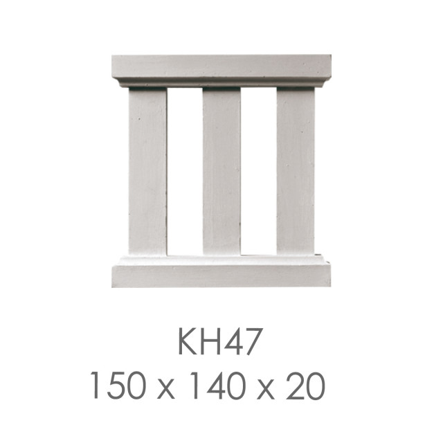 Кронштейн из гипса кн-47 150х140х20