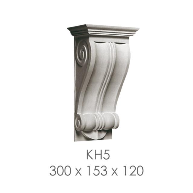 Кронштейн из гипса кн-5 300х153х120