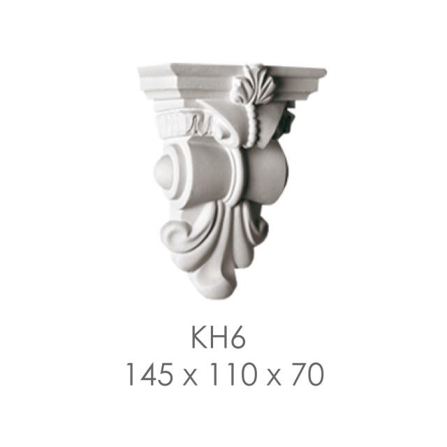 Кронштейн из гипса кн-6 145х110х70