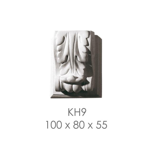 Кронштейн из гипса кн-9 100х80х55