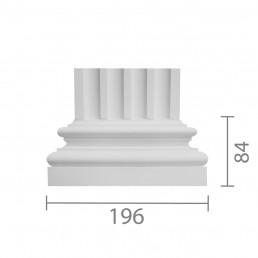 База пилястры б-119