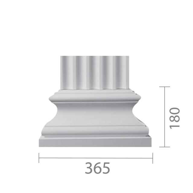 База пилястры  б-17