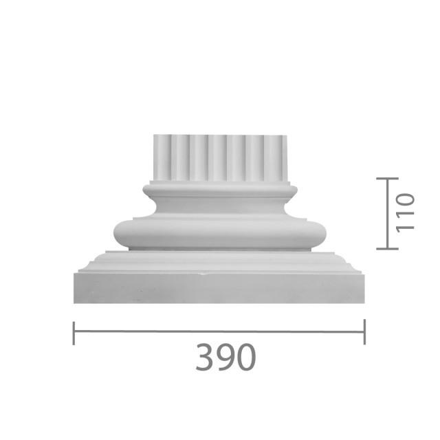 База пилястры б-21