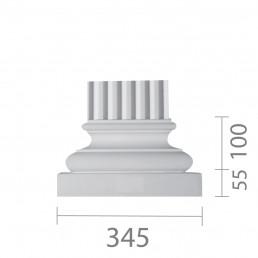 База пилястры б-30
