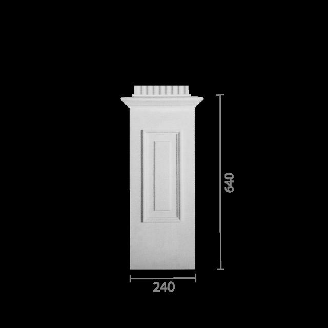 База колонны б-84б (пилястра)