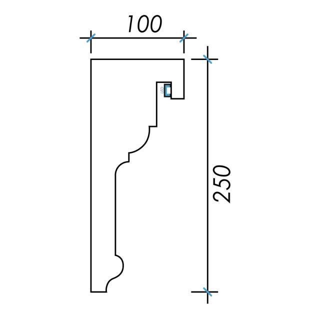 Фк световой-2 h250х100мм