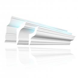 Карнизы, наличники и молдинги со скрытым освещением