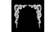 Декоративные уголки из гипса