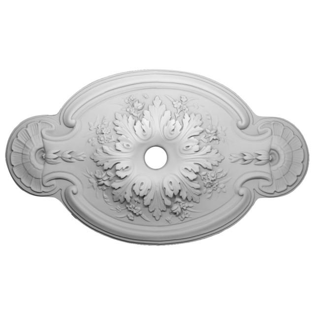 Розетка потолочная из гипса р-33  1065х620