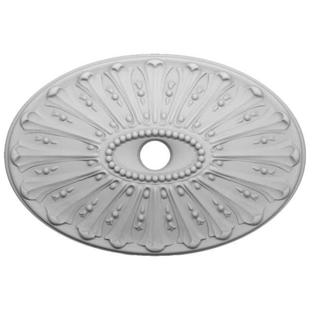 Розетка потолочная из гипса р-67  625х425