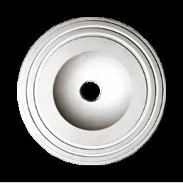 Розетка потолочная из гипса р-55 Ø155