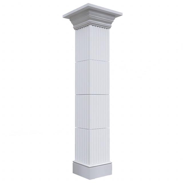Колонна бетонная 2