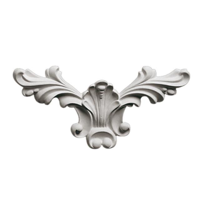 Гипсовая лепнина декоративный угол у-23 L-280мм