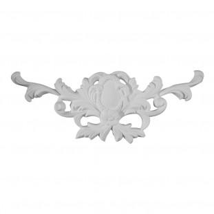 Гипсовая лепнина декоративный угол у-1 L-340мм