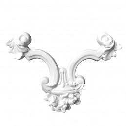 Гипсовая лепнина декоративный угол у-11 L-230мм