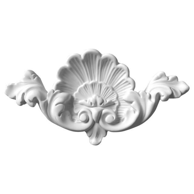 Гипсовая лепнина декоративный угол у-15 L-240мм