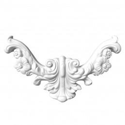 Гипсовая лепнина декоративный угол у-20 L-260мм