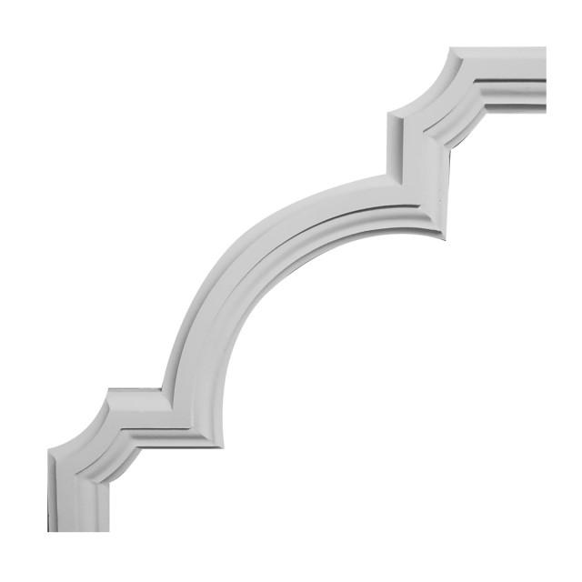 Гипсовая лепнина декоративный угол у-29 h290х290мм