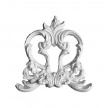 Гипсовая лепнина декоративный угол у-33 h235х235мм