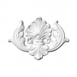 Гипсовая лепнина декоративный угол у-6 L-230мм