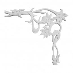 Гипсовая лепнина декоративный угол у-67 h225х250мм