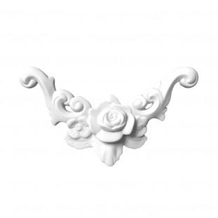 Гипсовая лепнина декоративный угол у-7 L-230мм