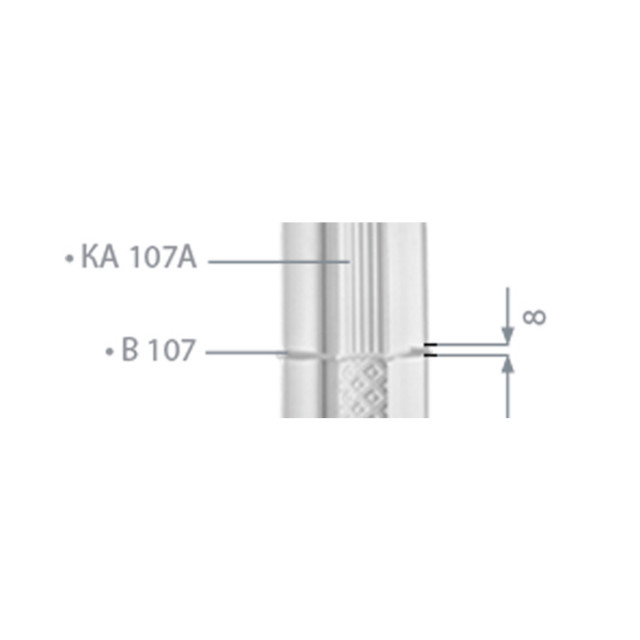 Вал пилястры Ка 107а (В 107)
