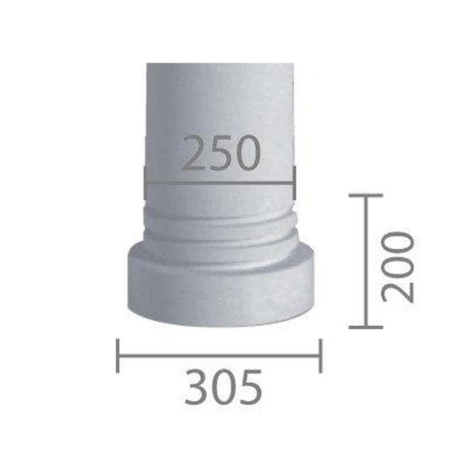 База колонны  б-39 (В39б) (энтазис)