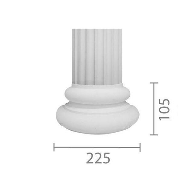 База колонны  б-56 (В 56 б)